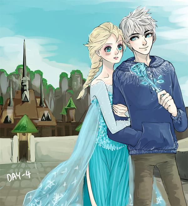 Elsa & Jack Frost Images on Fanpop