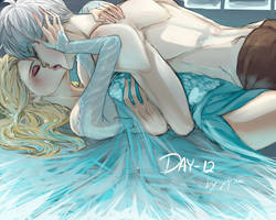 30 Day Challenge [Jelsa] Day 12 - Making out