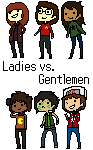 Ladies vs Gentlemen by tencurse