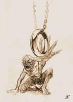 Gollum by TolmanCotton