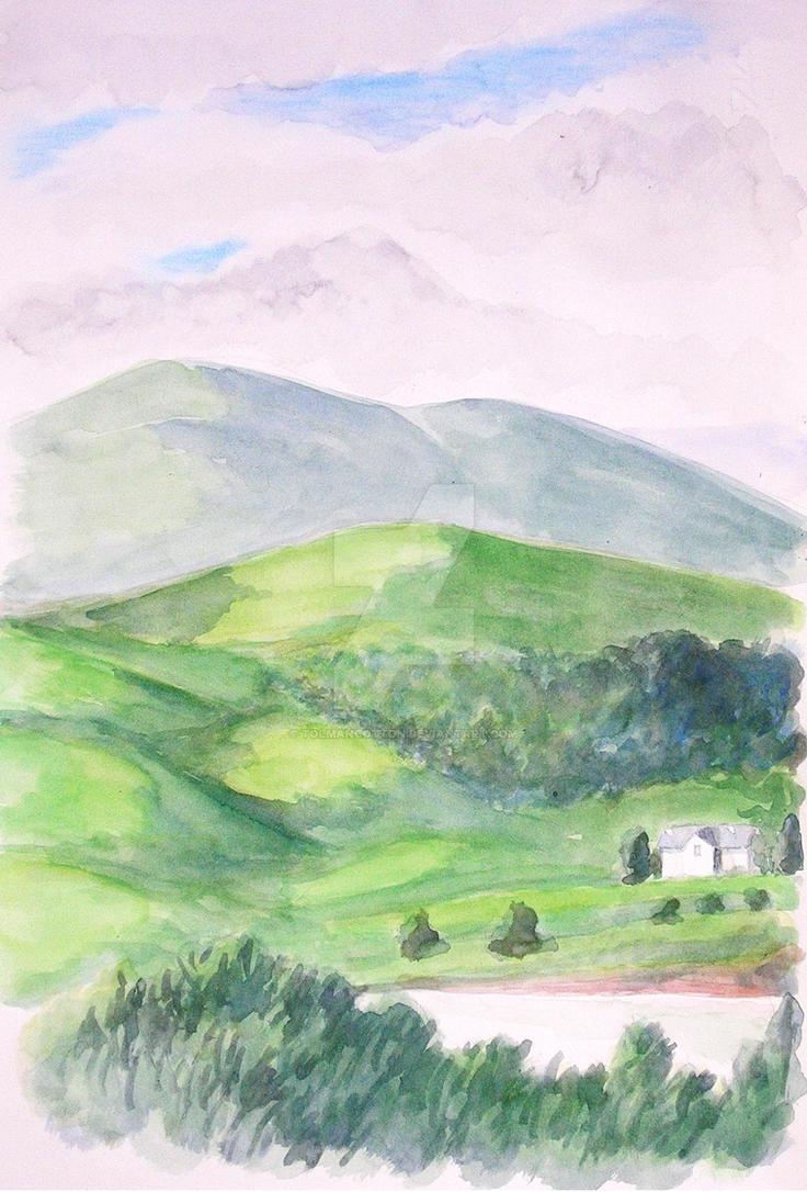 Mount Errigal by TolmanCotton