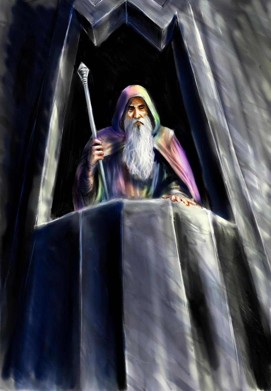 Saruman of many colours by TolmanCotton