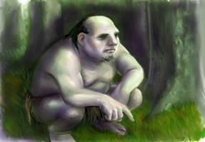Ghan-buri-ghan, woses' chief by TolmanCotton