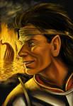 The burning at Losgar by TolmanCotton