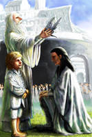 The Crowning of Elessar by TolmanCotton
