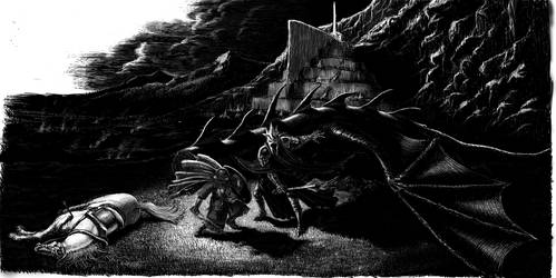 Dernhelm and the Witch-King