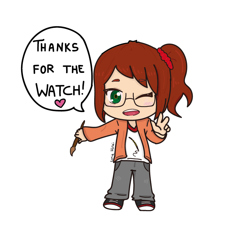 10 Watchers! Thank you! by LuriaHirai