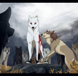 Blodet flyter och ulvarna ryter