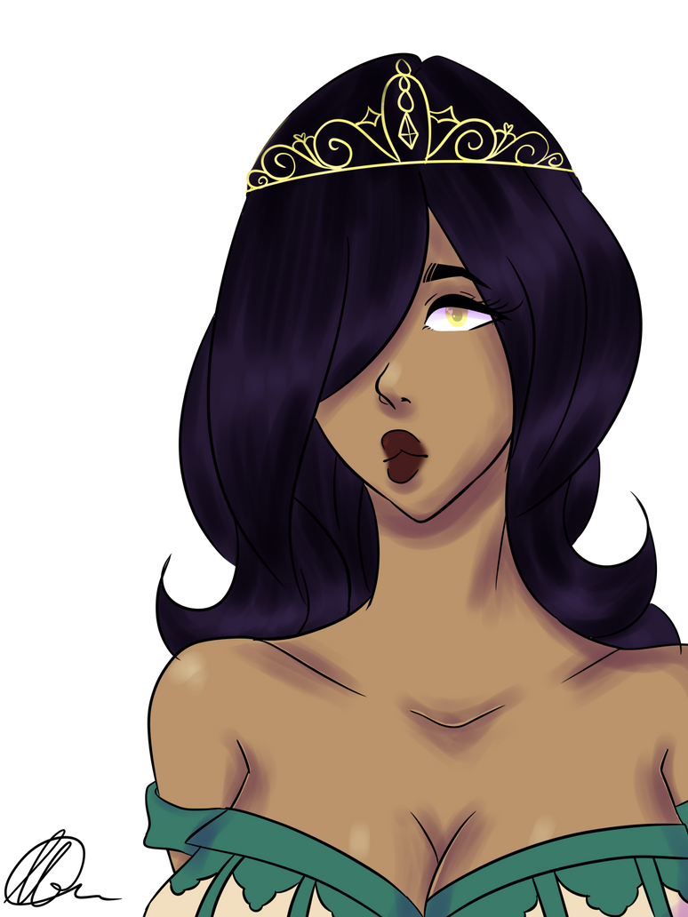 The princess I aspire to be by iisugarii