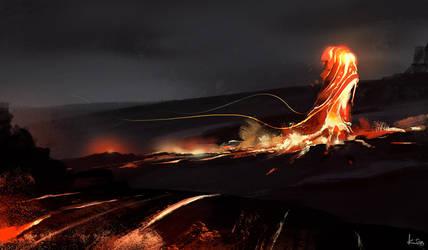 Liquid fire by kiankiani