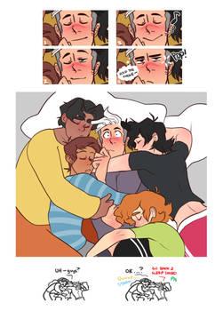 Dad go back to sleep