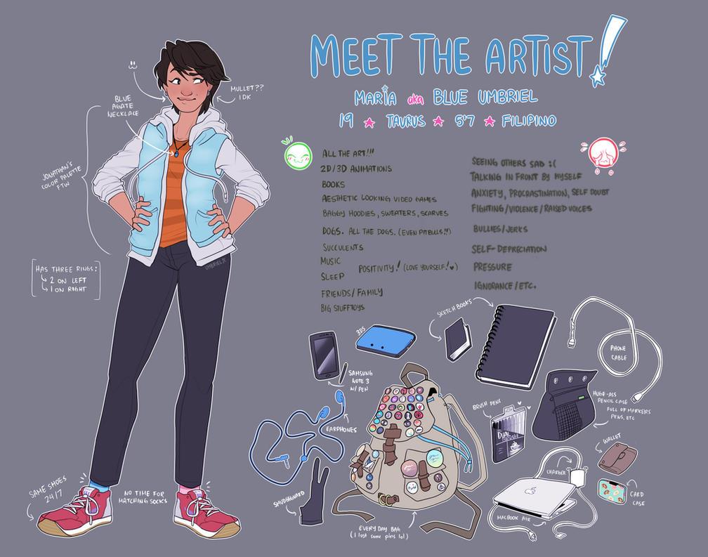 Meet The Artist by Usagiko-JOvi