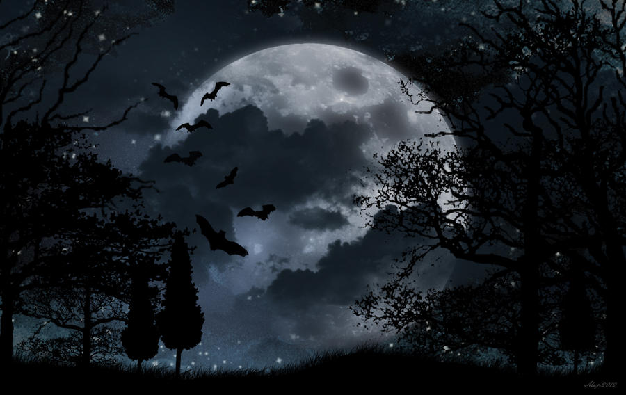 Mesečina - Page 5 Black_and_white_moonlight_background_by_lolotte10-d4yic4h