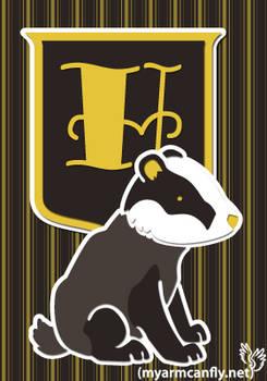 The Hufflepuff Badger