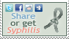 Share or get Syphilis Stamp by LostKitten