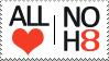 NOH8 Stamp by LostKitten