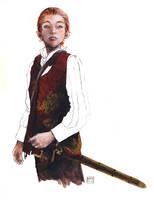 Alanna of Trebond and Olau by Kate-Kyrillion