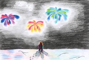 fireworks by lukeNroll