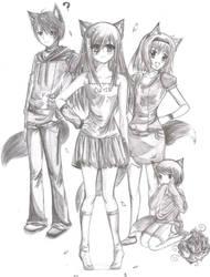 Celeste's Gang by KungFuTifa