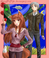 Spice and Wolf by KungFuTifa