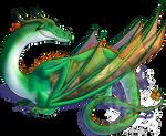 Old Irish Dragon - Free Commission