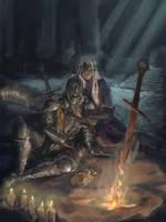 Guardiana del fuego Dark souls 3 by tsundere-power