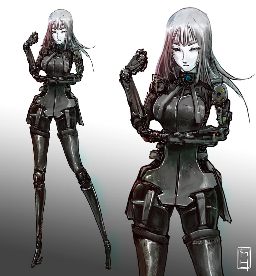 Cibo from Blame by tsundere-power