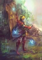 Remade link samurai by tsundere-power
