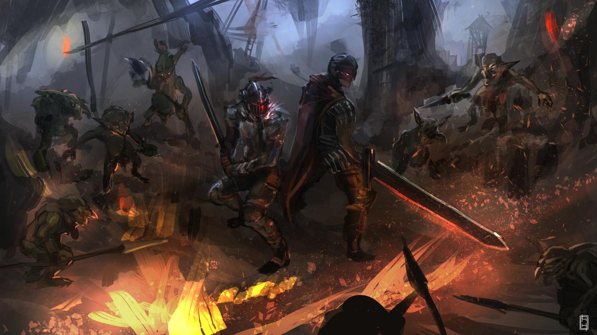 Goblin Slayer meets Berserk by tsundere-power