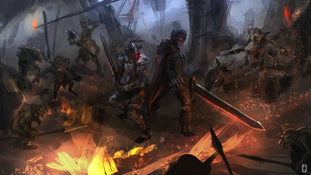 Goblin Slayer meets Berserk