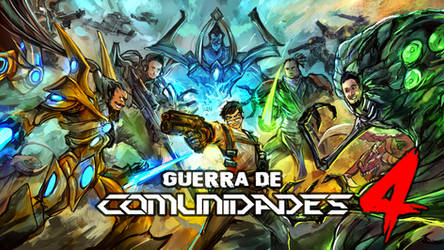 Guerra de comunidades 4 de Starcraft esp