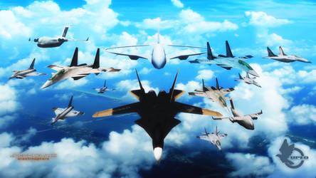 UPEO aircrafts v0.1 by RauuruKun