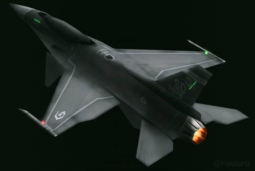 F-16XF Gyrfalcon (Have Glass V color scheme)