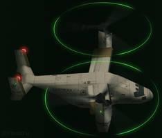 V-22B UPEO livery -Prop Light/Movement Test-