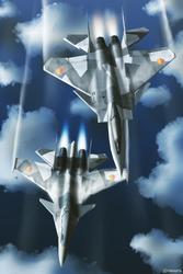 What if Yuktobania use F-15S/MT+  Su-37 [Ver1.0]