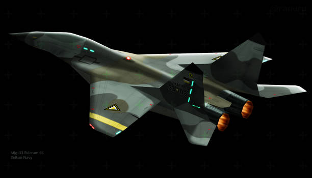 What if... Belkan Navy used Mig-33 from AC3