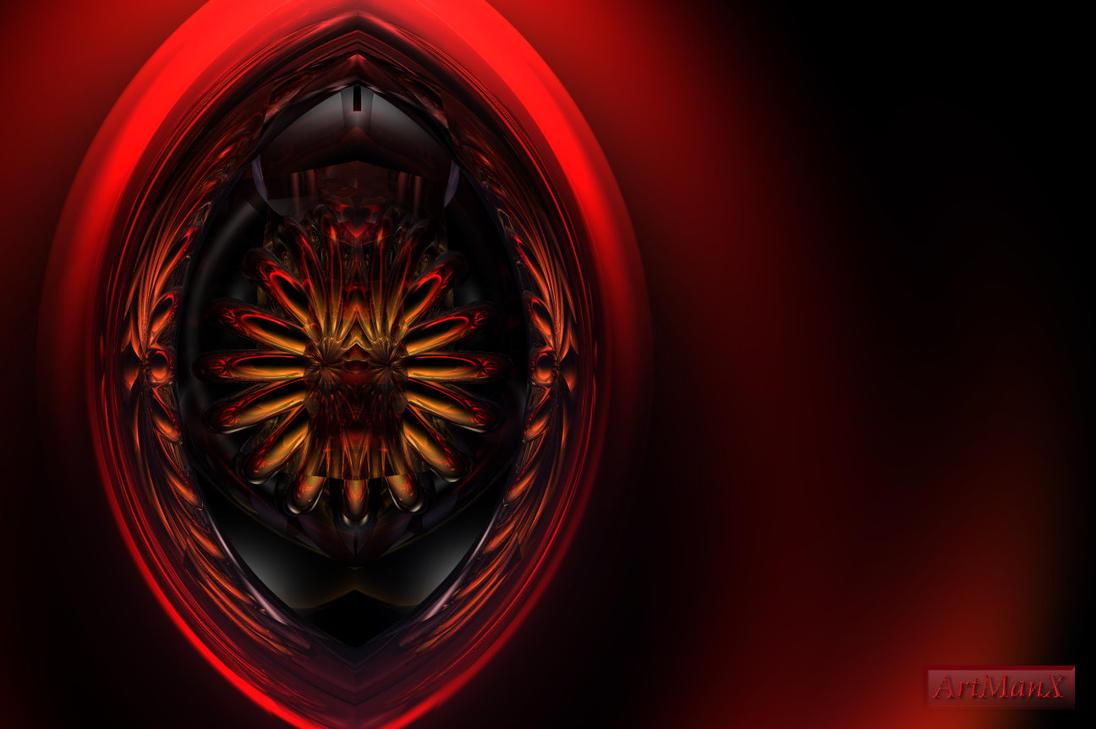 Ray eye by artmanax