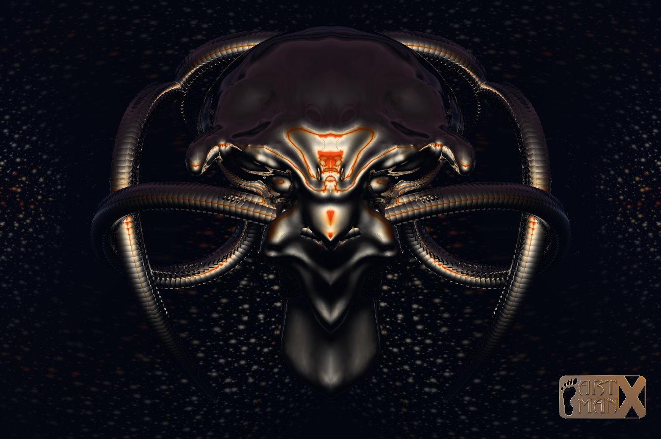 Alien Mask by artmanax