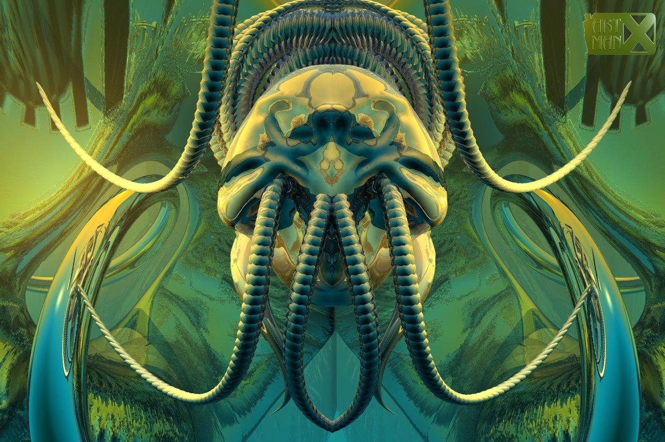 Alien egg by artmanax