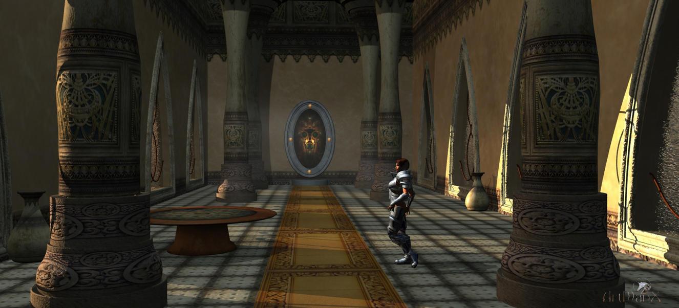 portal room by artmanax on deviantart