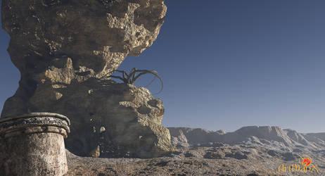 SaGarman desert by artmanax