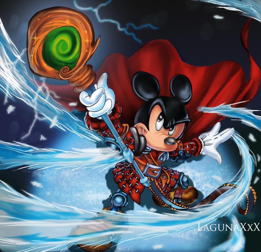 Uncategorized Wizard Mickey wizard of mickey by lagunaxxx on deviantart lagunaxxx
