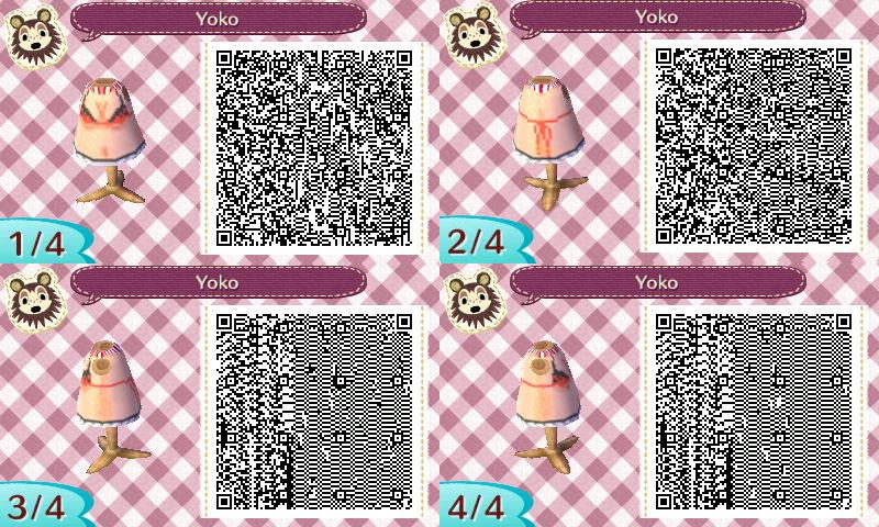 Animal Crossing QR - Yoko Boob Shirt by zetsubo-y