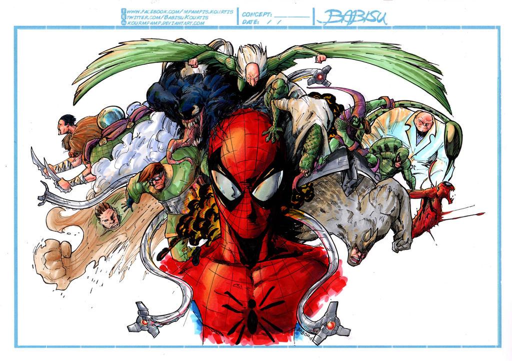Spiderman villains - photo#16