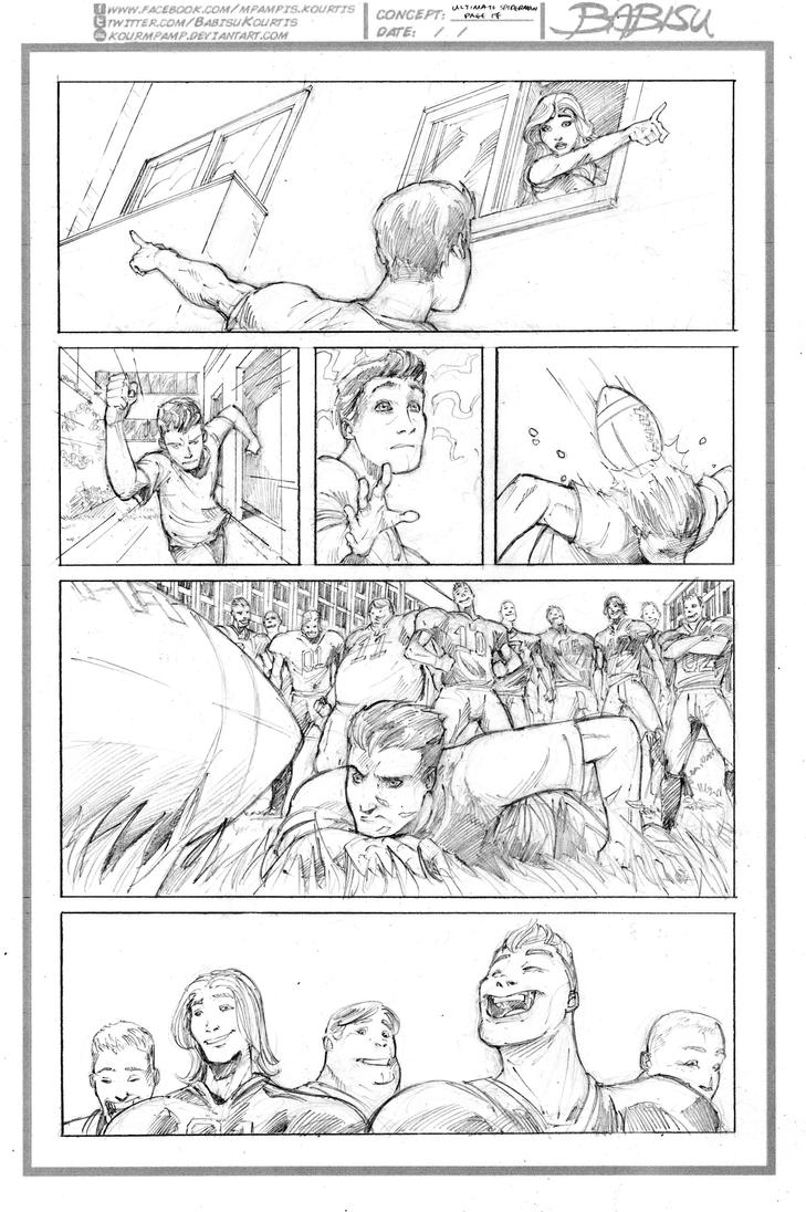 Ultimate Spiderman #28 sample page 17 by kourmpamp