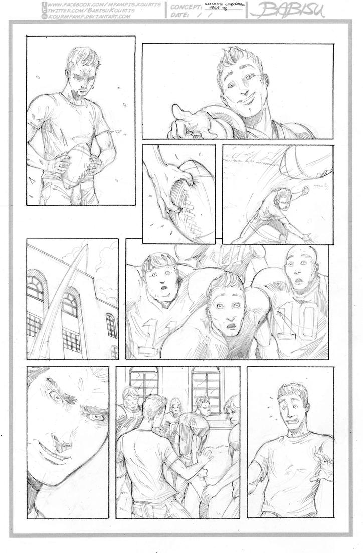 Ultimate Spiderman #28 sample page 18 by kourmpamp