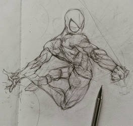 Anatomy practise with my favorite-friendly hero..  by kourmpamp