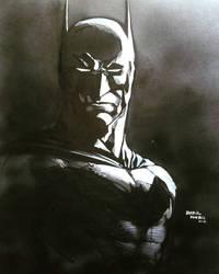 The Dark Knight by kourmpamp