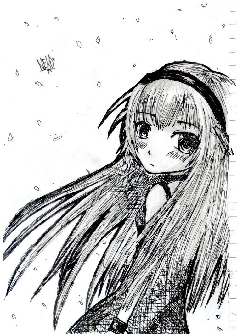 Random Sketch by NekoGoRAWR