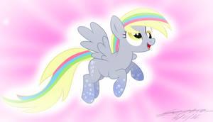 Derpy Power Pony